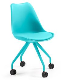 LaForma :: Krzesło biurowe Lars turkusowe