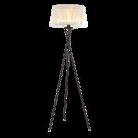 Lampa stojąca OSLO  ⌀ 45 cm biała