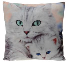 Poduszka Cats 45x45 cm- wzór 2