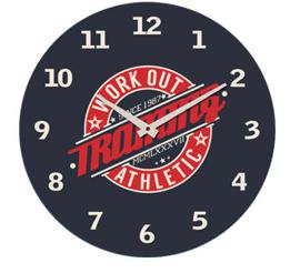 Zegar ścienny Athletic- wzór I