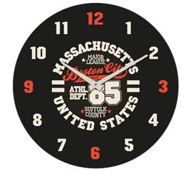 Zegar ścienny Athletic- wzór II